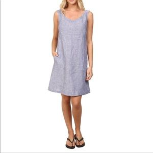 Toad&Co. Chambray Linen Dress with Pockets